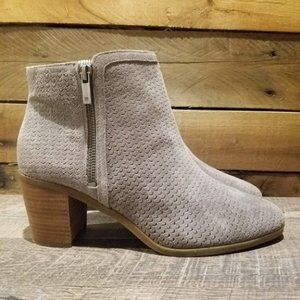 NEW Lucky Brand Women's Perforated Basel Booties